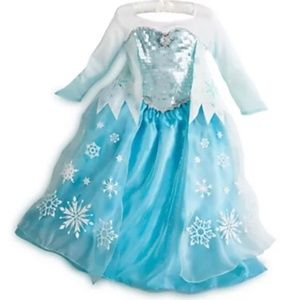 Authentic DISNEY STORE Original ELSA Costume 9/10